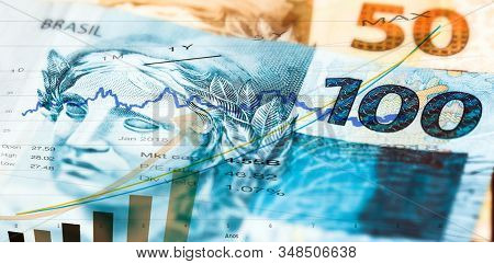 Brazilian Stock Exchange, Increase In The Brazilian Real, Quotation Of The Real In The Market. Brazi