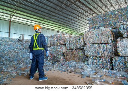 Recycled Material. Mass Consumption. Recycling Industry. Ecology.