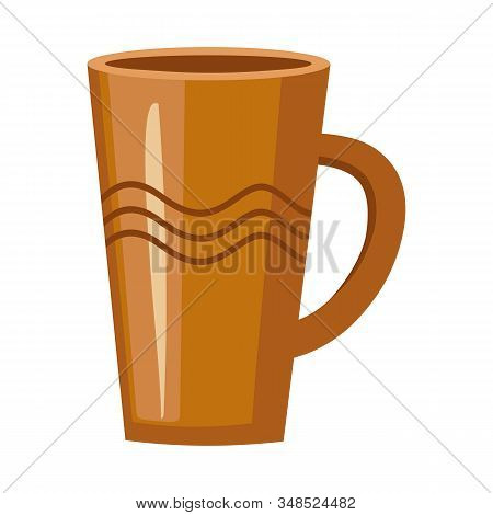 Vector Illustration Of Pitcher And Jug Sign. Graphic Of Pitcher And Clay Vector Icon For Stock.