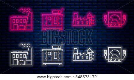 Set Line Diesel Power Generator, Power Station Plant And Factory, Coal Power Plant And Factory And A
