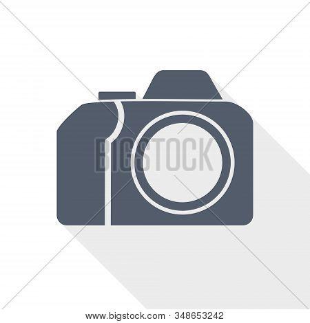 Photo Camera, Photography Concept Vector Icon On White