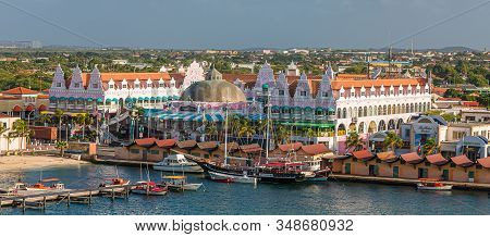 Orenjastad, Aruba - December 7, 2017: Being South Of The Hurricane Belt And Because Of The Constant