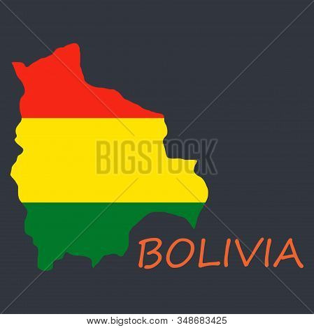 Bolivia Flag Map Country, Geography, Icon Country, Geography, Icon