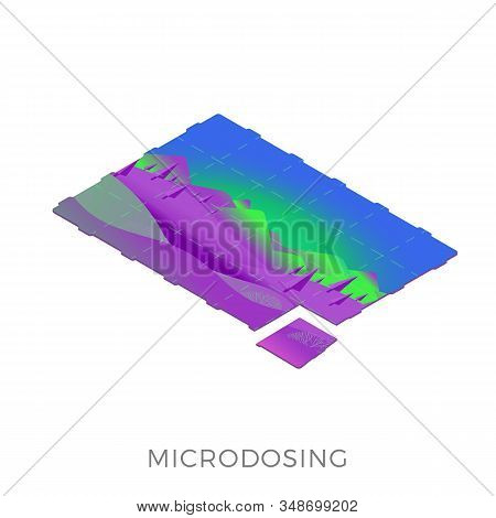 Microdosing Concept - Taking Ultra-low Doses Of The Psychoactive Substance Lsd-25 (less 10 Microgram
