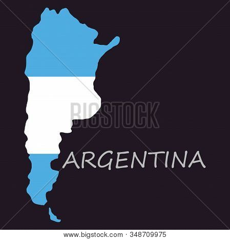Argentina Flag Map Country, Geography, Icon Country, Geography, Icon