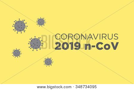 Coronavirus Illustration. Mers-cov (middle East Respiratory Coronavirus Syndrome), New Corona Virus