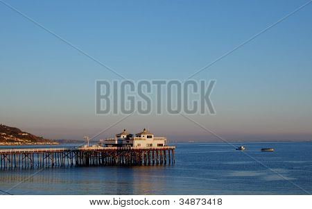 Historic Malibu Pier