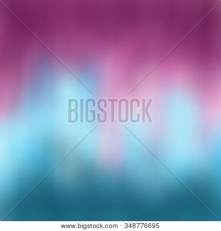 Abstract Blurred Background. A Beautiful Wavy Transition From The Deep Purplish-red Color Of Byzanti