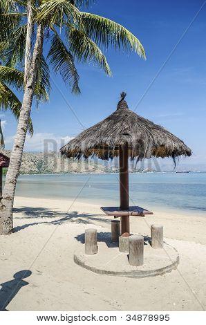 areia branca beach near dili east timor timor leste poster