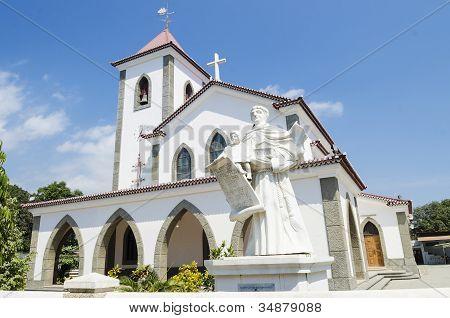 church in dili east timor timor leste poster