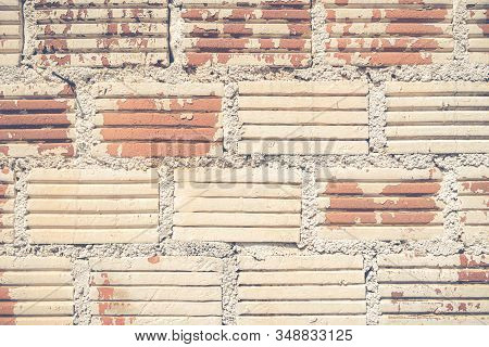 Old Brick Wall Texture Can Be Used For Background