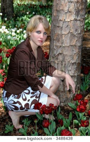Barefoot In The Tulips