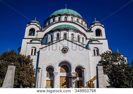 Serbian Orthodox Church Of Saint Sava In Belgrade, Serbia, Europe