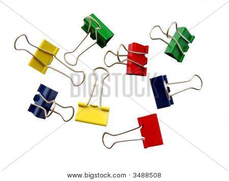 Coloured Staples