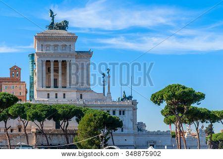 Monument Of Victor Emmanuel: Altare Della Patria, Rome, Italy
