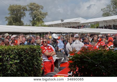 F1 champion Red Bull driver Sebastian Vettel