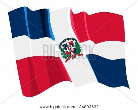 Illustration of national flags series
