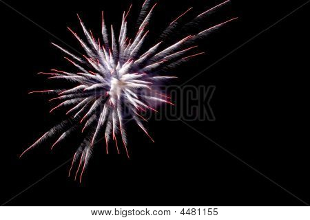 Fireworks Close Up Explosion