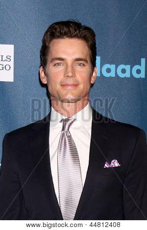 LOS ANGELES - APR 20:  Matt Bomer arrives at the 2013 GLAAD Media Awards at the JW Marriott on April 20, 2013 in Los Angeles, CA