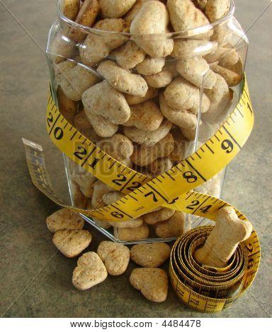 Dog Bisquits In Jar