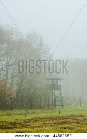 Watch Tower In The Fog