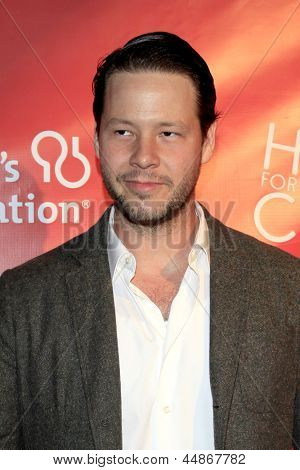 LOS ANGELES - APR 25:  Ike Barinholtz arrives at the Second Annual Hilarity For Charity benefiting The Alzheimer's Association  at the Avalon  on April 25, 2013 in Los Angeles, CA