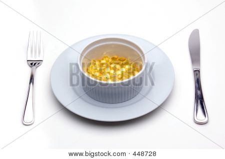 Vitamin E (tocopherol) Lunch