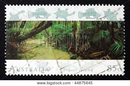 Postage Stamp Australia 1993 Fraser Island