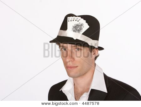 Royal Flush In Hat