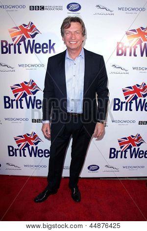 LOS ANGELES - APR 23:  Nigel Lythgoe arrives at the 7th Annual BritWeek Festival