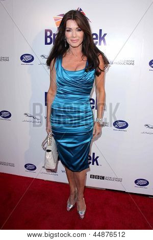 LOS ANGELES - APR 23:  Lisa Vanderpump arrives at the 7th Annual BritWeek Festival