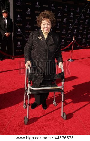 LOS ANGELES - APR 25:  Jane Withers arrives at the TCM Classic Film Festival Opening Night Red Carpet
