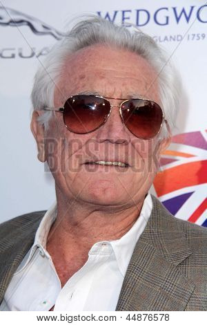 LOS ANGELES - APR 23:  George Lazenby arrives at the 7th Annual BritWeek Festival