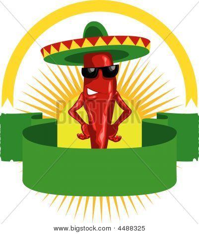 Hot Chili Label.