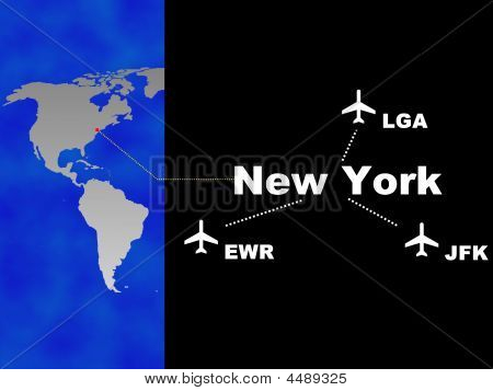 3 Airports Of New York