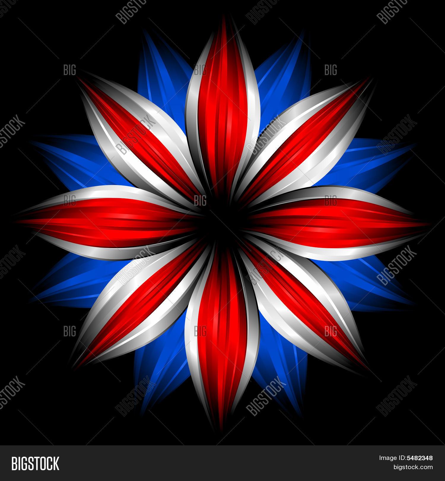 Flower British Flag Image & Photo (Free Trial) | Bigstock