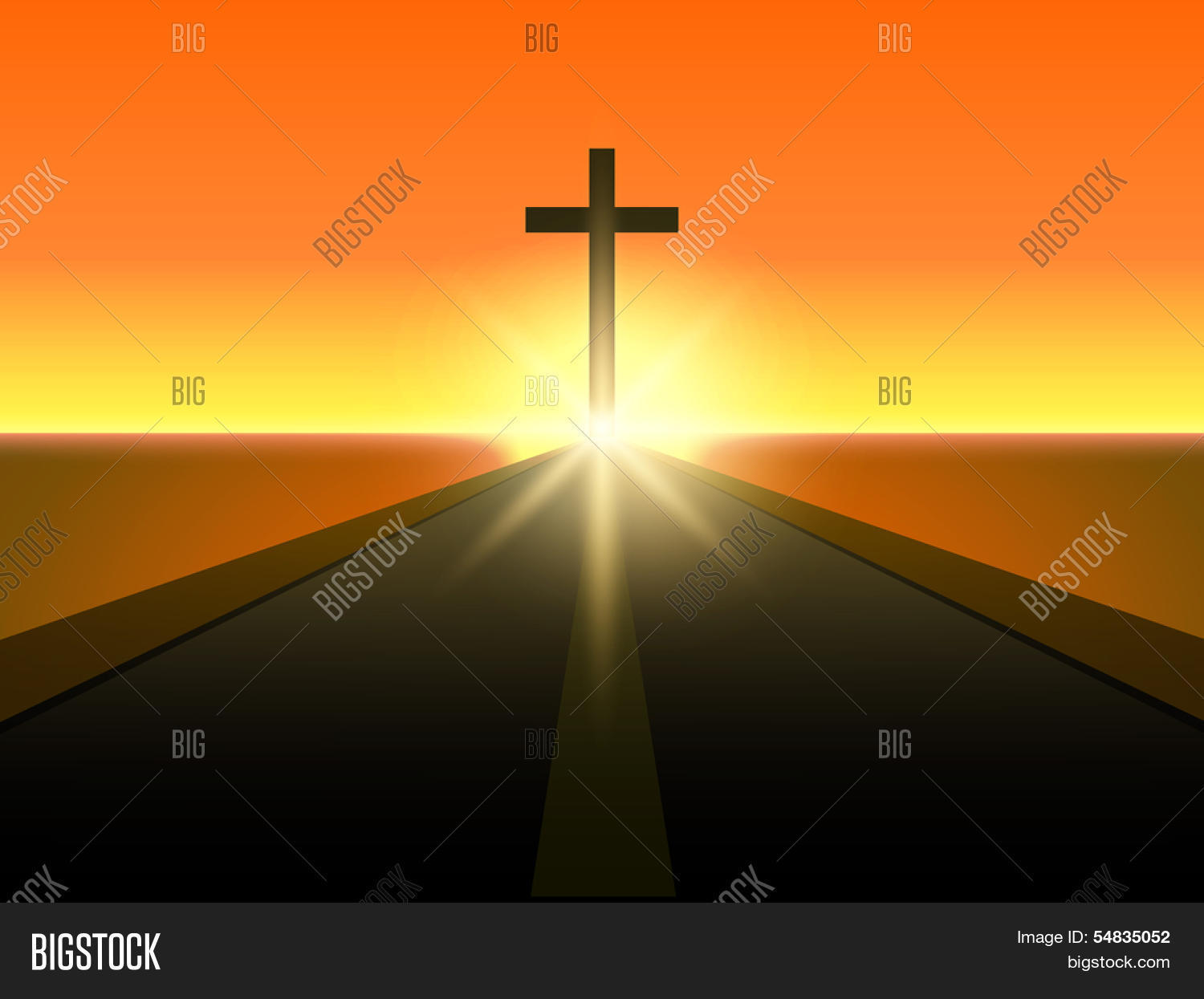 Merry christmas happy new year 2014 image photo bigstock merry christmas and happy new year 2014 celebration concept with view of christian cross in evening voltagebd Image collections