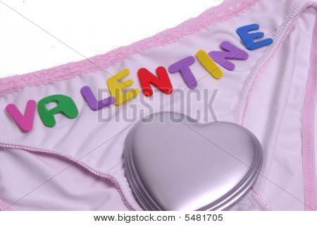 Valantine On A Ladies Pants