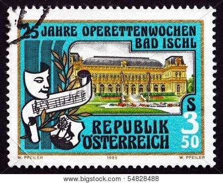 Postage Stamp Austria 1985 Kurhaus, Bad Ischl
