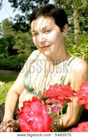 Portrait Attractive Woman