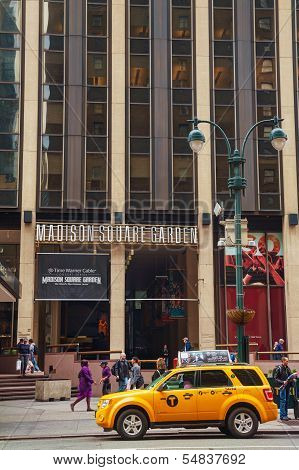Madison Square Garden In New York City