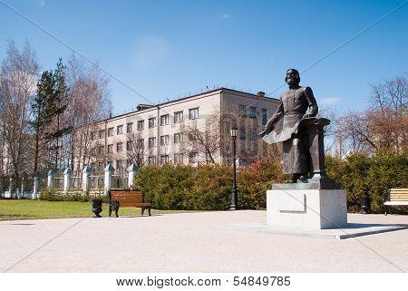 Tobolsk, Monument of Remezov S.U.