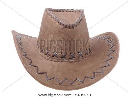 Brown Sombrero Isolated