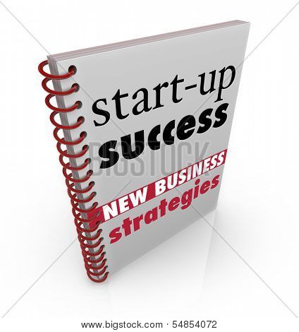Start-Up Success Book Cover Business Advice Manual