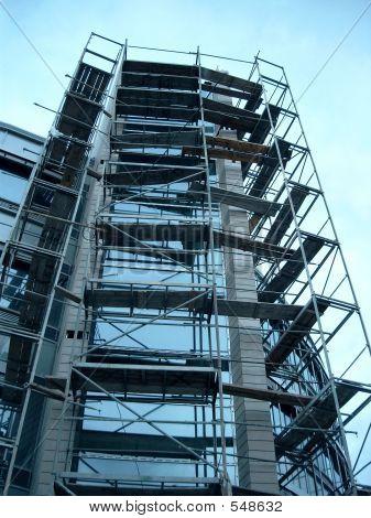Glass Building Construction