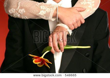 Bride-groom-and-flower