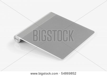Wireless Trackpad Isolated On White Background