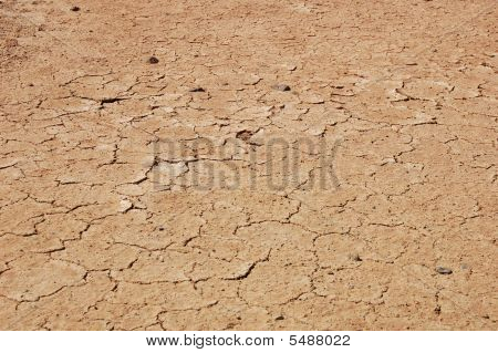 cracked earth texture after drought