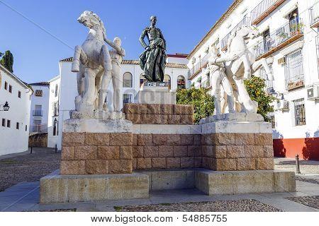 Bullfighter Manuel Rodriguez Sanchez, Known As Manolete