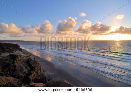 Torrey Pines Beach Sunset